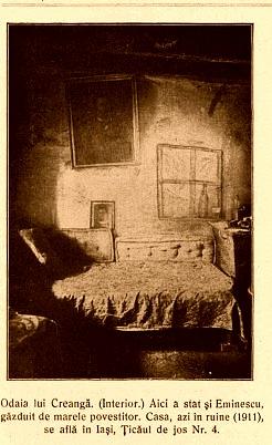Camera in care a dormit Eminescuu