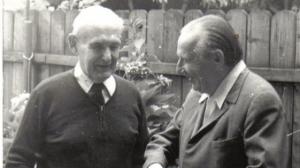 Gheorghe Eminescu si Augustin Z.N. Pop