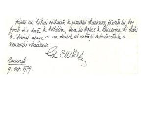 Scrisoare Gheorghe Eminescu