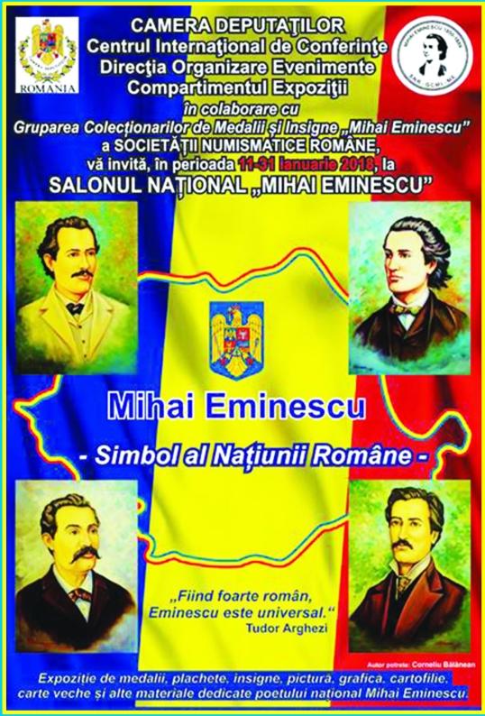 Salonul National Mihai Eminescu Ianuarie 2018